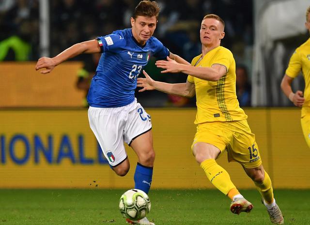 Il centrocampista Nicolò Barella, foto: Figc.it