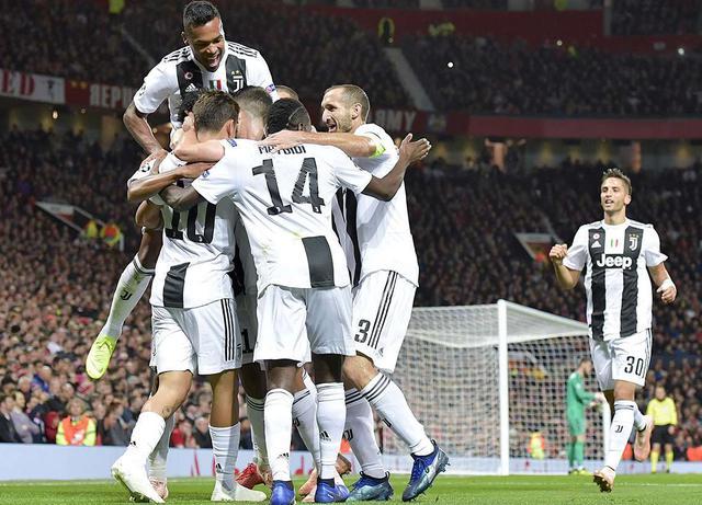 L'esultanza della Juventus dopo la rete di Dybala, foto: Juventus.com