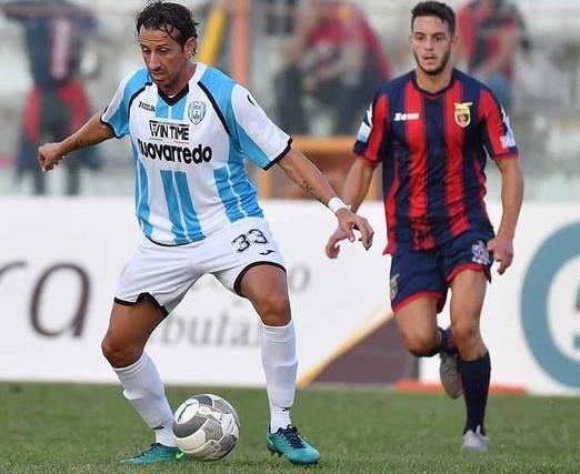 L'attaccante Giuseppe Madonia, foto: Fonte Web