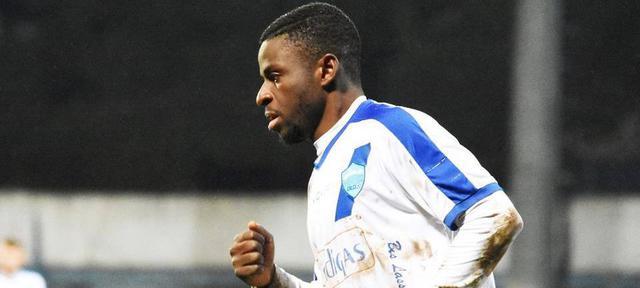 Il centrocampista Andy Bangu, foto: Sandro Veglia