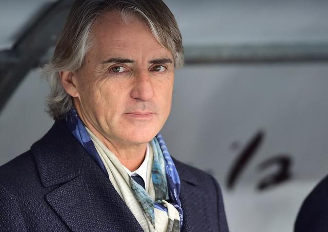 L'allenatore Roberto Mancini, foto: Fonte Web