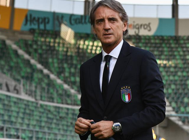 Il ct Roberto Mancini, foto: Figc.it