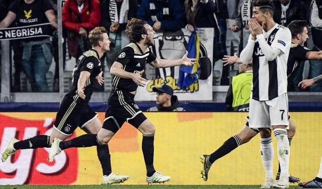 Una fase di Juventus-Ajax, foto: Fonte Web