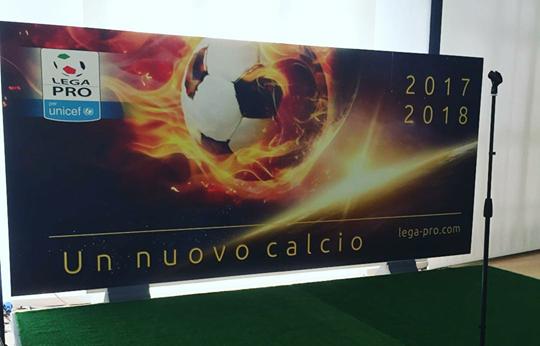 Locandina presentazione Calendari, foto: Lega-Pro.com