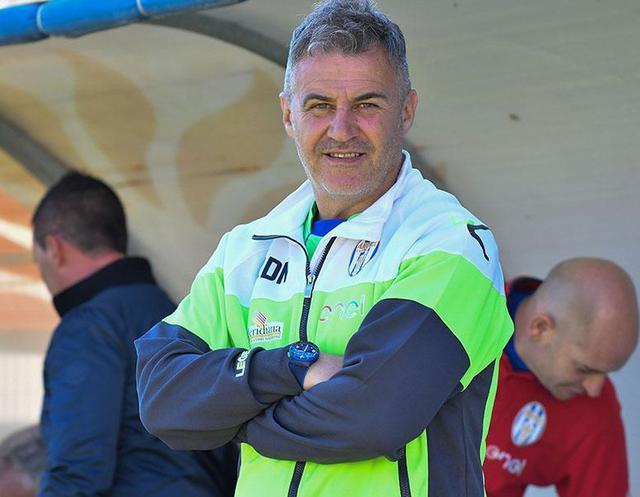 L'allenatore Raffaele Di Napoli, foto: Giuseppe Scialla