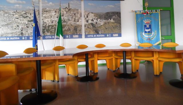 La sala stampa del Comune, FOTO: TUTTOMATERA.COM