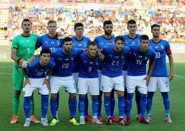 L'undici dell'Under 21, foto: Figc.it