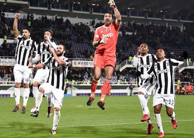 L'esultanza dei bianconeri, foto: Juventus.it