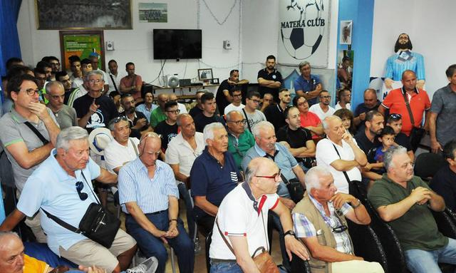I tifosi del Matera Club, foto: Fonte Web