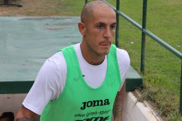 L'attaccante Manuel Sarao, foto: Giovanni Mavilio - MonopoliCalcio.it