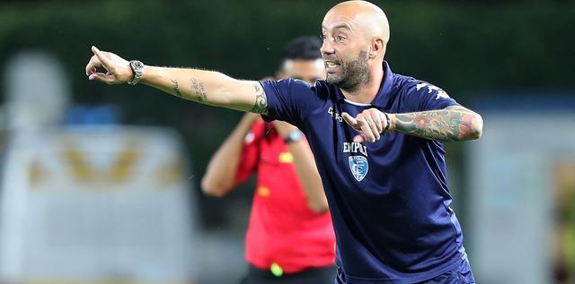 Il tecnico Cristian Bucchi, FOTO: EMPOLIFC.COM-PAGINA FACEBOOK