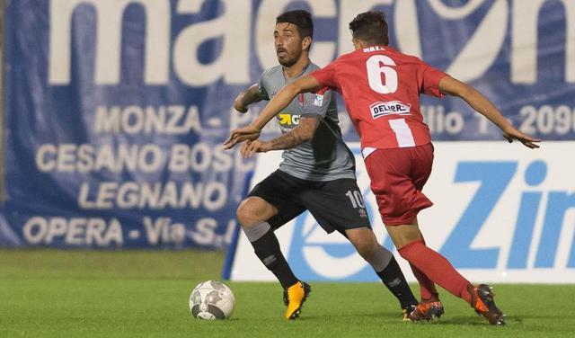 Il centrocampista Nicola Bellomo in azione, foto: Fonte Web