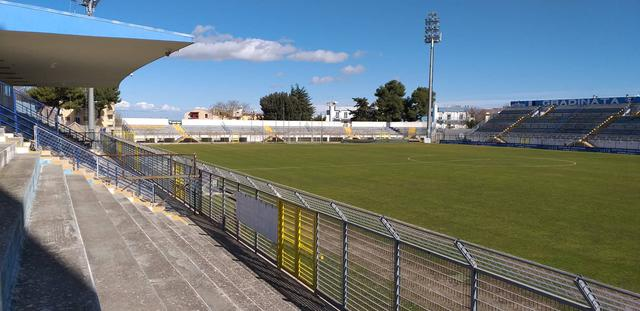 Lo stadio XXI Settembre-Franco Salerno, foto: TuttoMatera.com