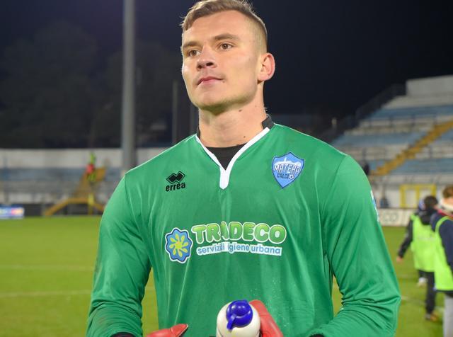 Il portiere Adnan Golubovic, foto: Emanuele Taccardi