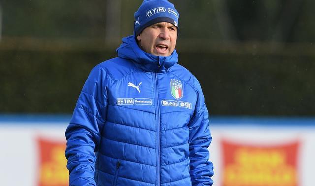 Il tecnico degli azzurrini Luigi Di Biagio, foto: Figc.it