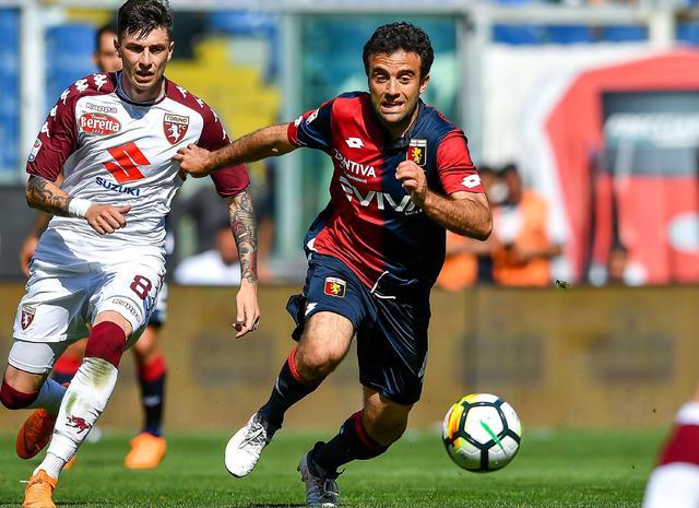 L'attaccante Giuseppe Rossi in azione, foto: Fonte Web