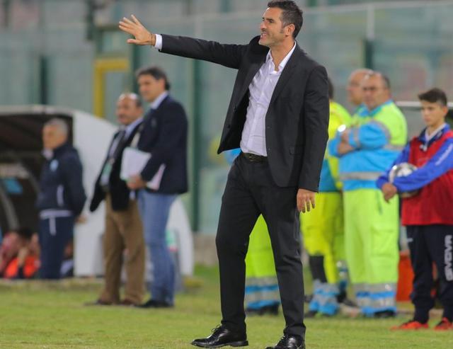 Il tecnico Cristiano Lucarelli, foto: MessinaSportiva.it