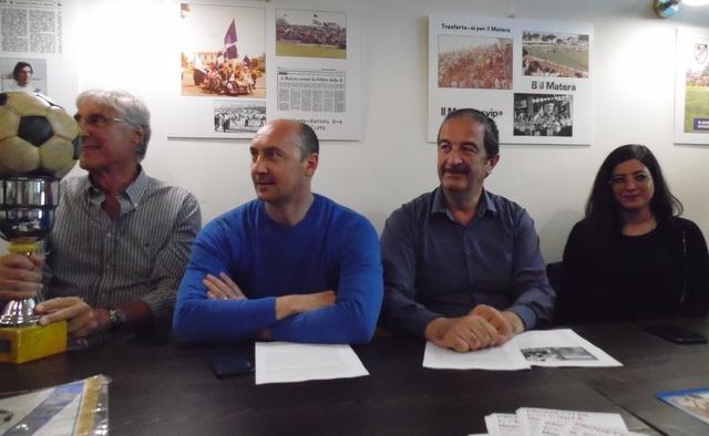 Una fase della conferenza stampa, FOTO: TUTTOMATERA.COM