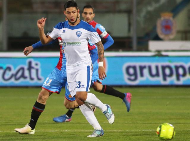 Il centrocampista Francesco Urso, foto: Nino Russo