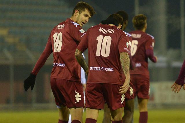 I giocatori del Rieti, foto: Gianluca Vannicelli