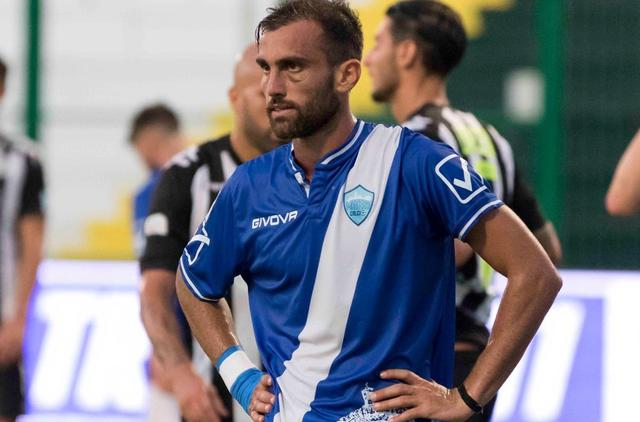 L'attaccante Fabio Orlando, foto: Cristian Costantino