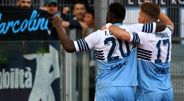 L'esultanza della Lazio, foto: Fonte Web