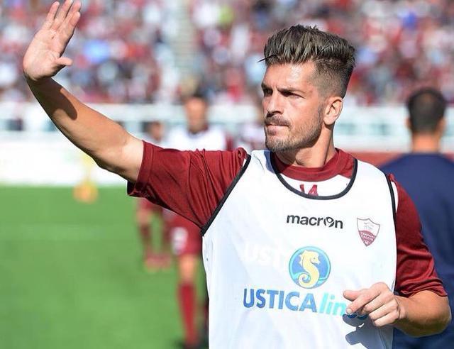 Il centrocampista Maurizio Ciaramitaro, foto: Fonte Web