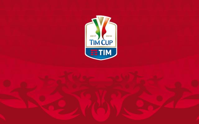 Logo Tim Cup 2017-2018, foto: Fonte Web