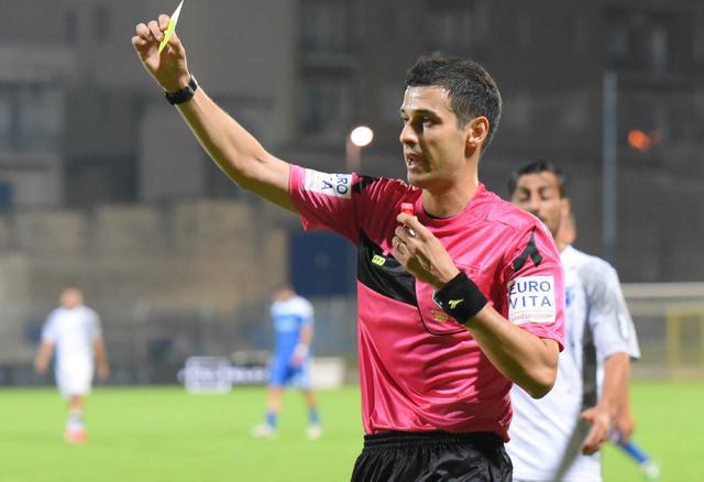 L'arbitro del match, foto: Emanuele Taccardi