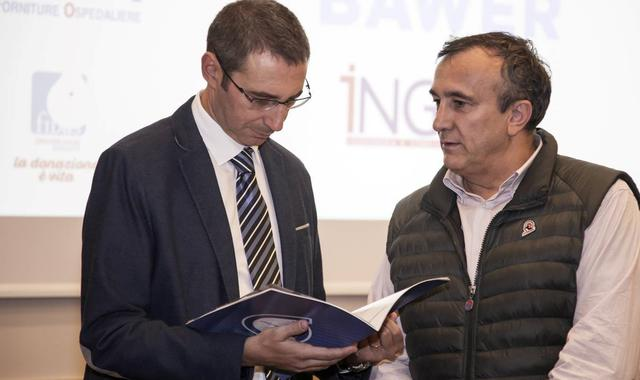 Il dirigente Massimo Checchi, foto: Roberto Linzalone