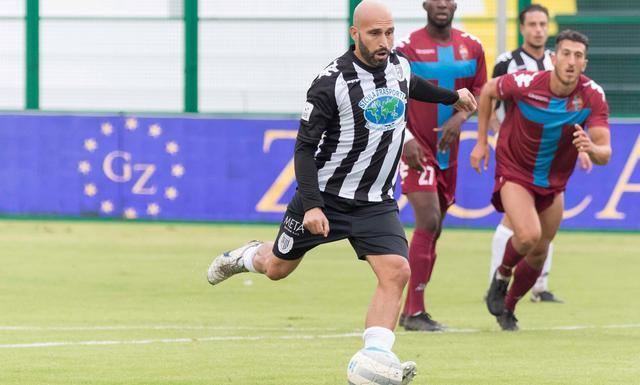 L'attaccante Francesco Ripa, foto: Cristian Costantino