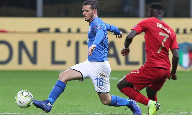Il terzino destro Alessandro Florenzi, foto: Figc.it