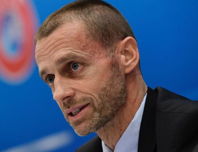 Il presidente della Uefa Ceferin, foto: Fonte Web