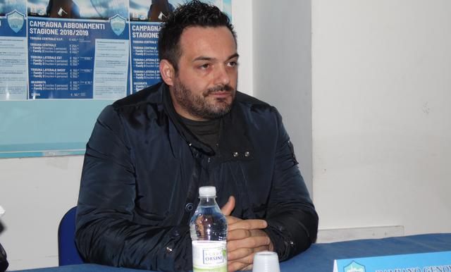 Il neo direttore sportivo Damiano Genovese, foto: TuttoMatera.com