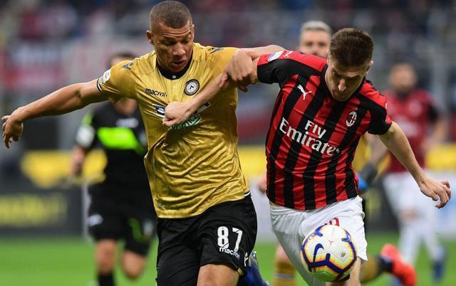Una fase di Milan-Udinese, foto: SportMediaset.it