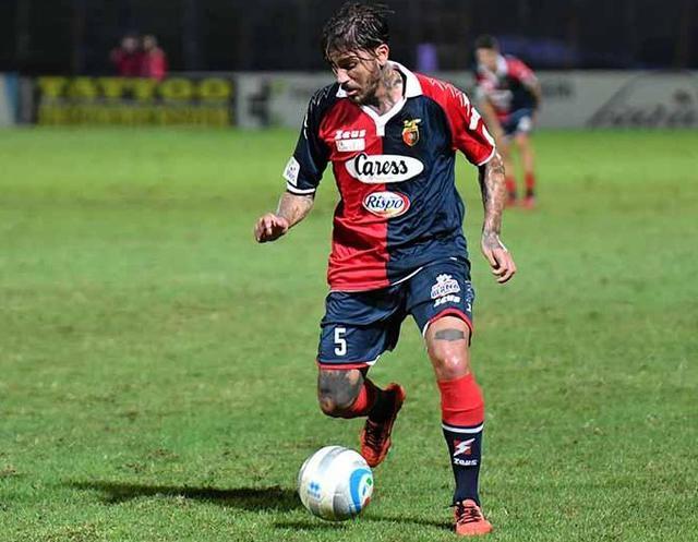 Il centrocampista Antonio Vacca, foto: Giuseppe Scialla
