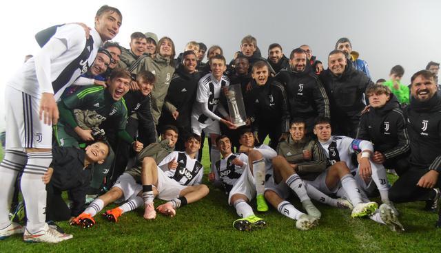 L'esultanza della Juventus, foto: TuttoMatera.com