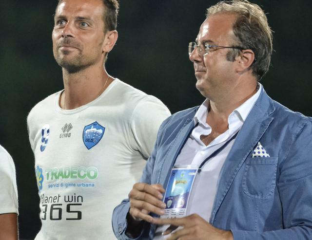 Il team manager Nunzio Papangelo, foto: Emanuele Taccardi
