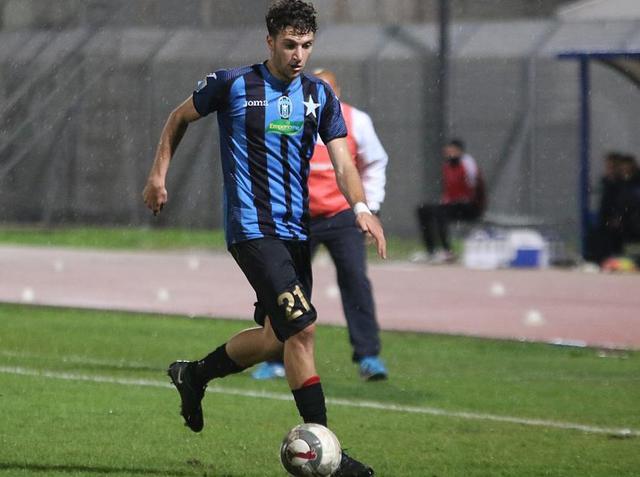 Il centrocampista Andrea Risolo, foto: Fonte Web