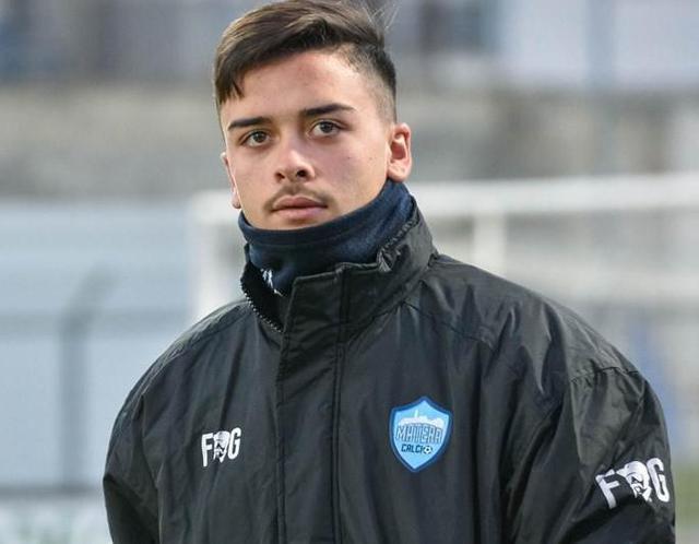 L'attaccante Saverio Dellino, foto: Emanuele Taccardi