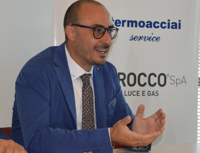 Il dirigente Claudio Gaudiano, foto: Federico Longo