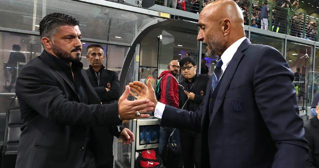 I tecnici Gattuso e Spalletti, foto: Fonte Web