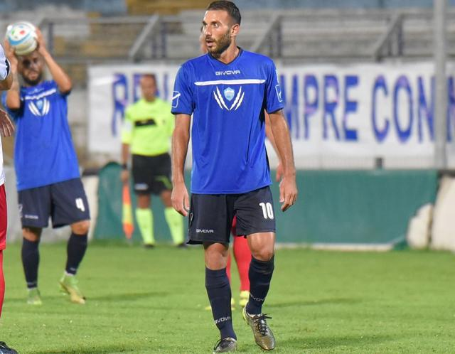 Il centrocampista Manuel Ricci, foto: Emanuele Taccardi