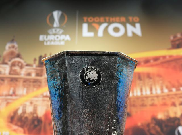 Il trofeo dell'Europa League, foto: Fonte Web