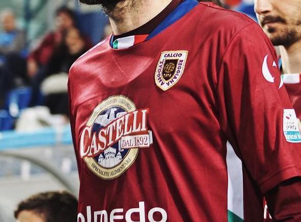 La maglia della Reggiana, foto: Fonte Web