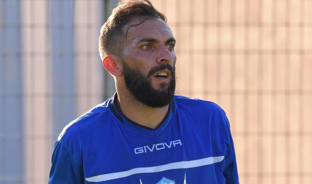 Il centrocampista Mariano Galdean, FOTO: EMANUELE TACCARDI - TUTTOMATERA.COM