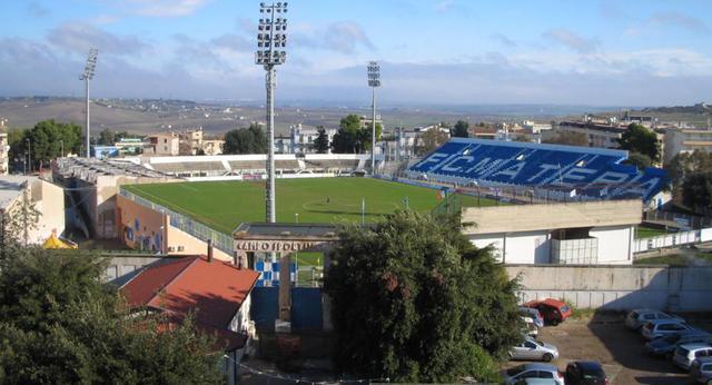 Lo stadio XXI Settembre di Matera, foto: Fonte Web