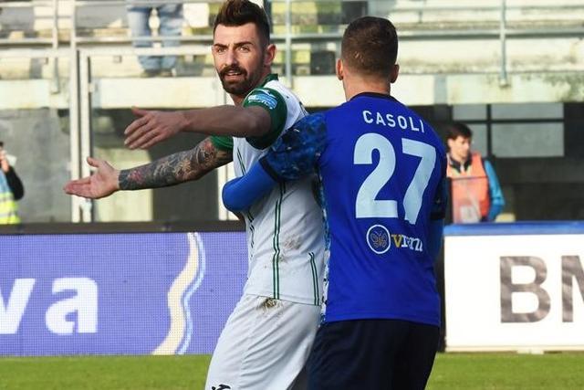 Una fase del match al Veneziani, foto: Gabriele Latorre - MateraCalcioStory.it