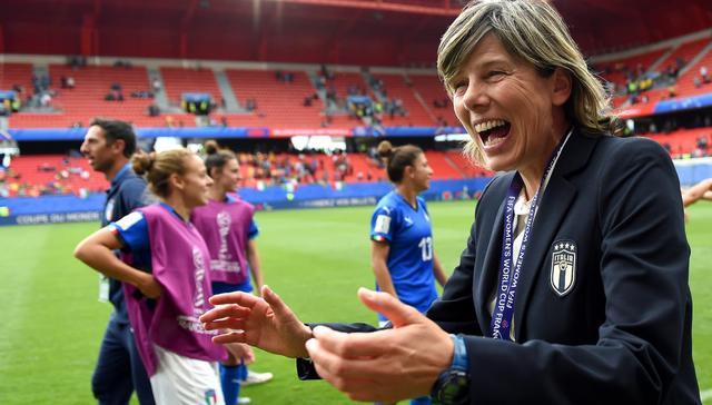 Il ct Milena Bertolini, FOTO: FIFA.COM