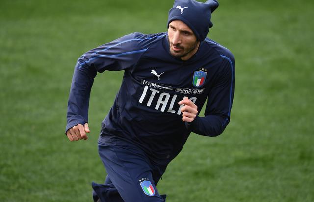 Il capitano degli azzurri Giorgio Chiellini, foto: Figc.it